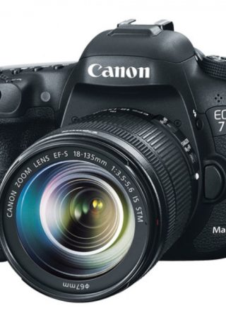 Canon EOS 7D Mark II DSLR Camera 18-135mm F/3.5-5.6 STM Lens